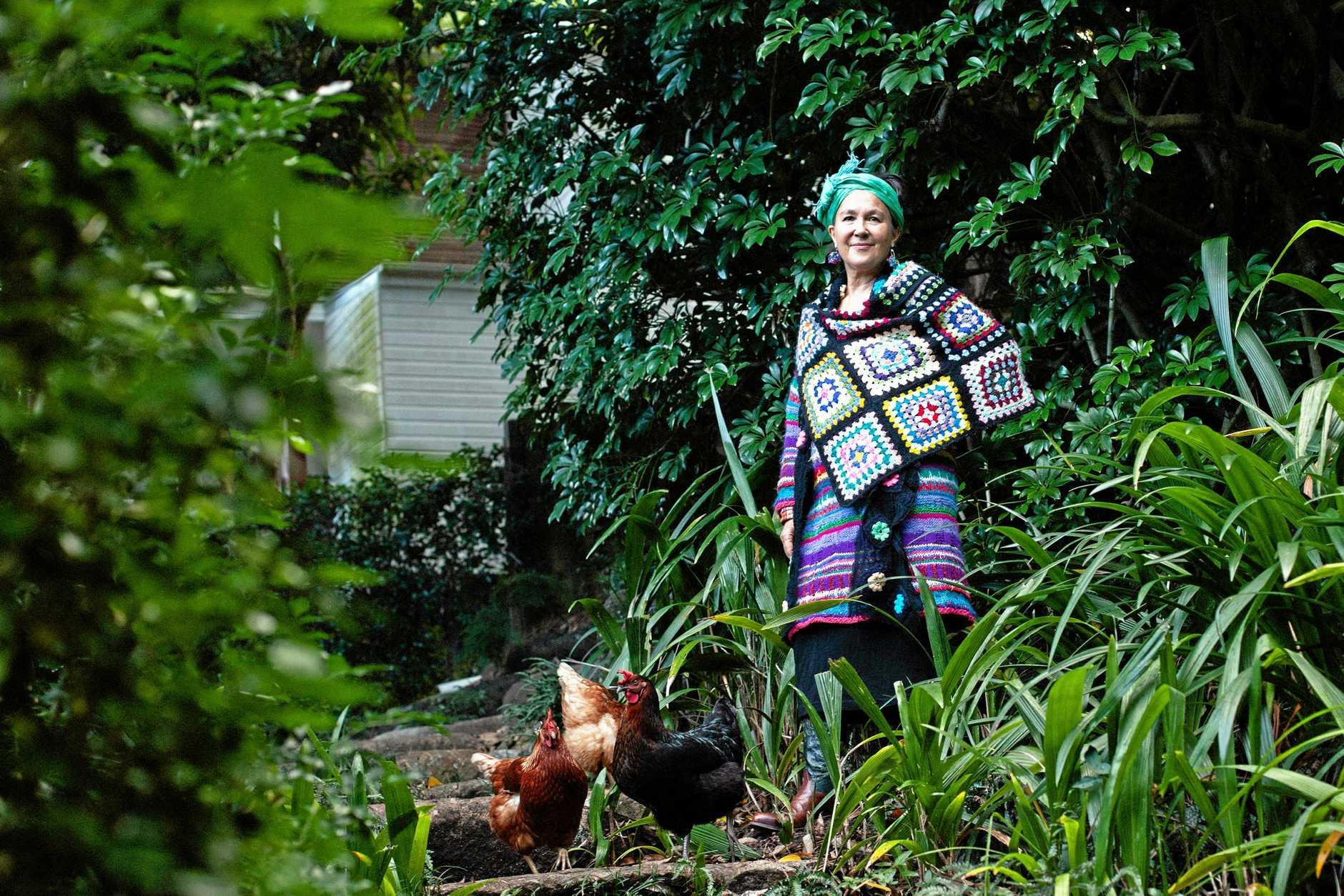 SARTORIAL CHOICES: Jane Milburn will give a talk at Toowoomba Regional Library on environmentally-conscious fashion choices.