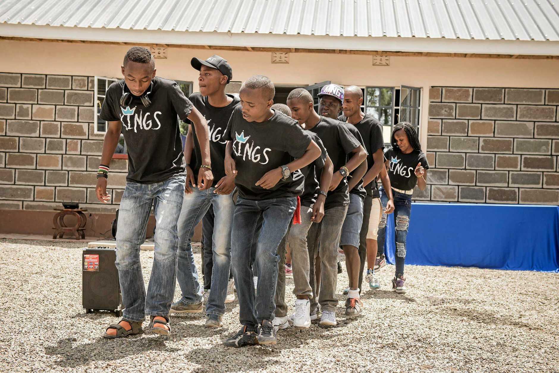 The Rafiki Mwema charity operates in Kenya. Photo Contributed
