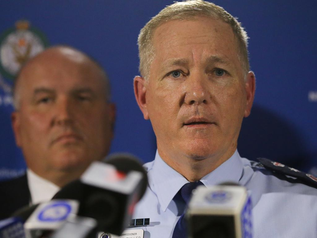 NSW Police Commissioner Mick Fuller. Picture: Steven Saphore