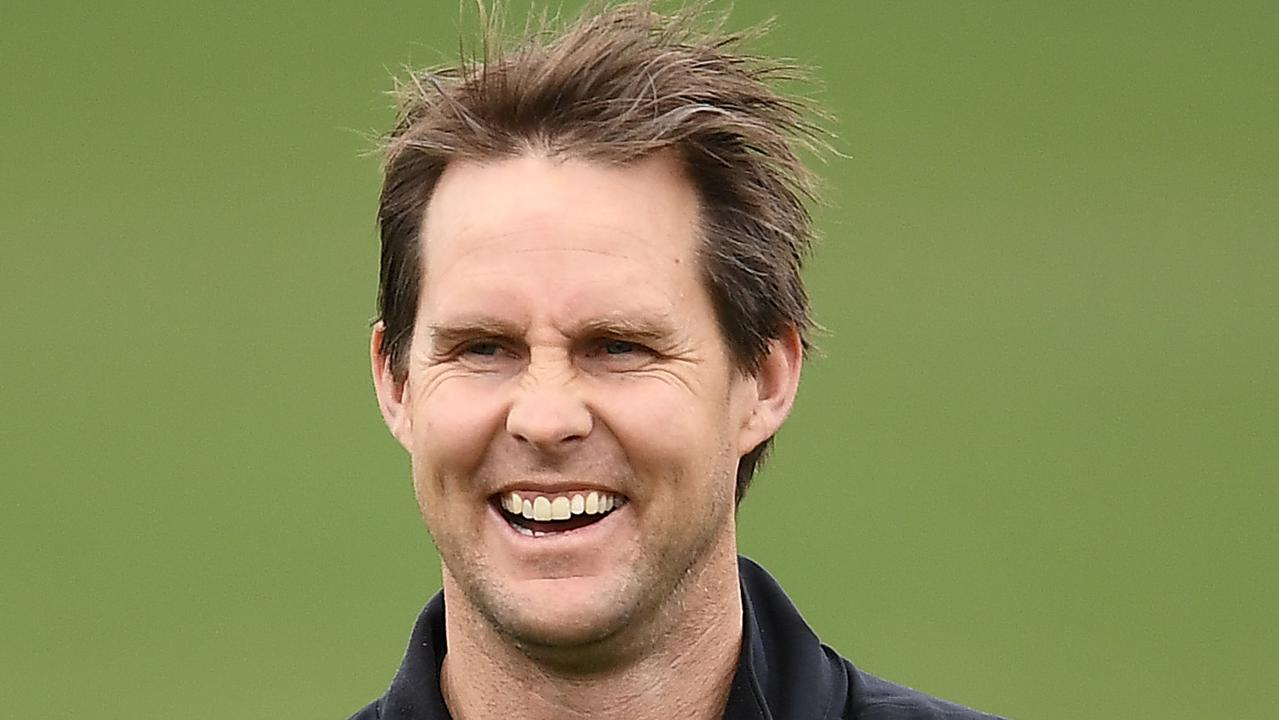 David Teague has been appointed Carlton's full-time coach. Picture: Quinn Rooney/Getty Images.