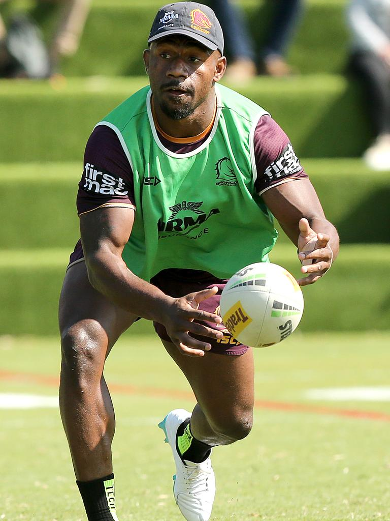 Segeyaro training at Red Hill today. Picture: AAP Image/Jono Searle