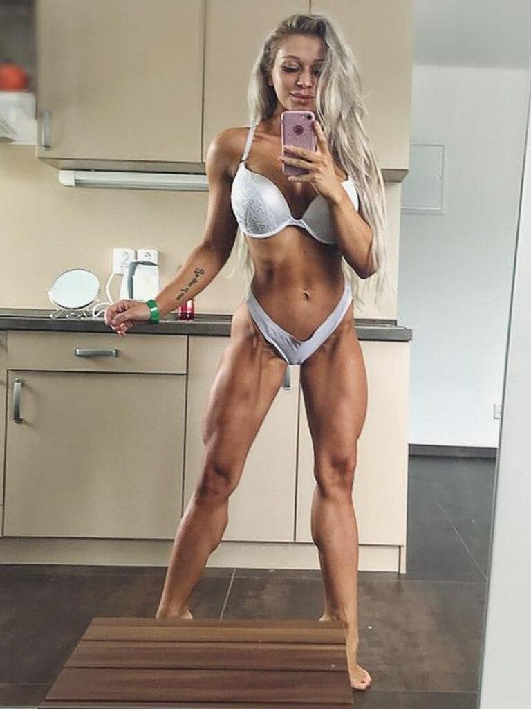 Sabina Dolezalova has been slammed after her boyfriend splashed holy water on her.