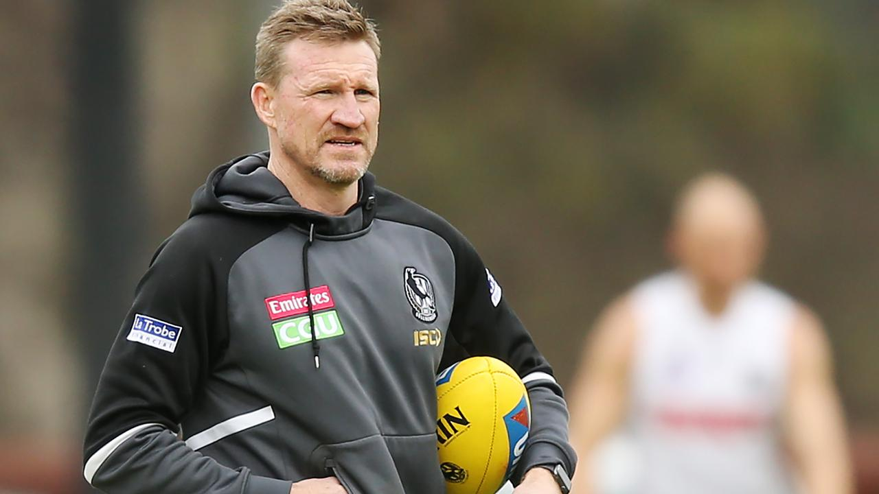 Collingwood coach Nathan Buckley. Picture: Getty