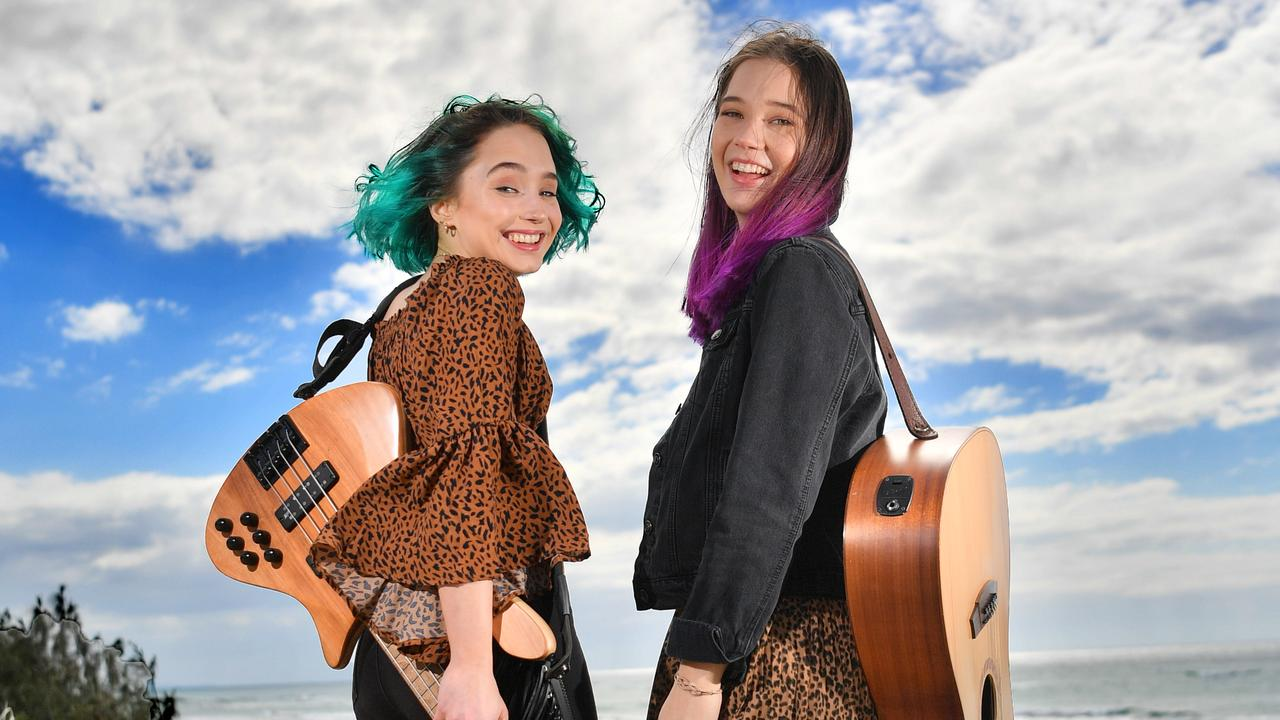 The Dennis Sisters, Briannah and Tiana Dennis, are ready to rock at the Gympie Muster.