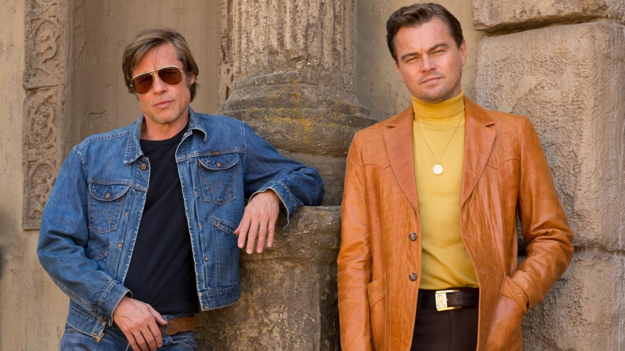 Brad Pitt and Leonardo DiCaprio star in Columbia Pictures ÒOnce Upon a Time in Hollywood