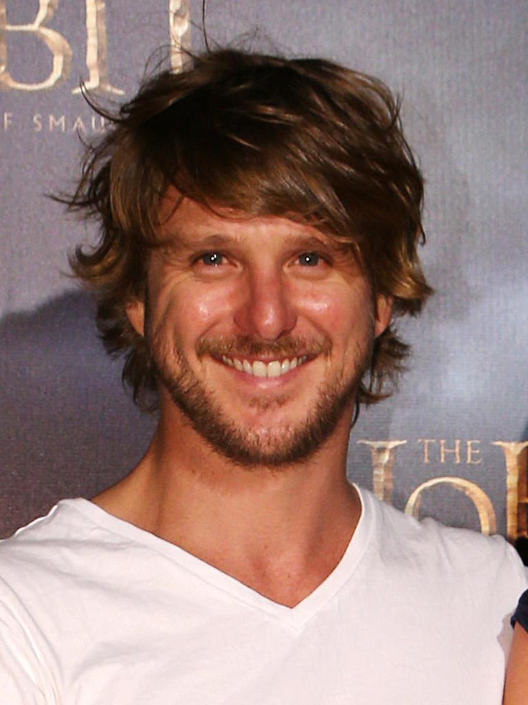 Diarmid Heidenreich pictured in 2013 at the Australian premiere of The Hobbit: Desolation of Smaug.