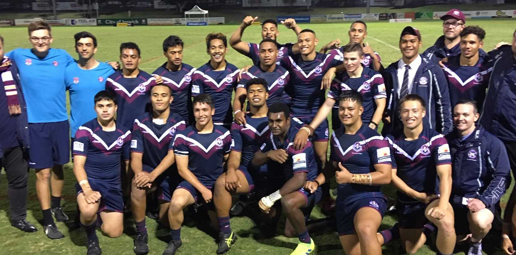 The gutsy, unheralded Ipswich SHS squad under coach Joshua Brethreton which finished second in the Langer Cup.