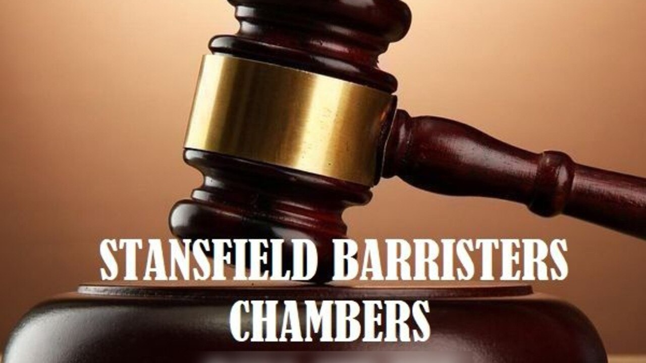 Joel Stansfield is allegedly holding himself out to be a barrister without holding the relevant qualifications.