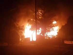 Blaze destroys Lakes Creek home