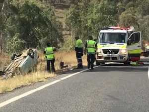 Serious crash on Wide Bay highway