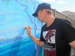 Panoramic mural brings Burrum River to life - photo gallery