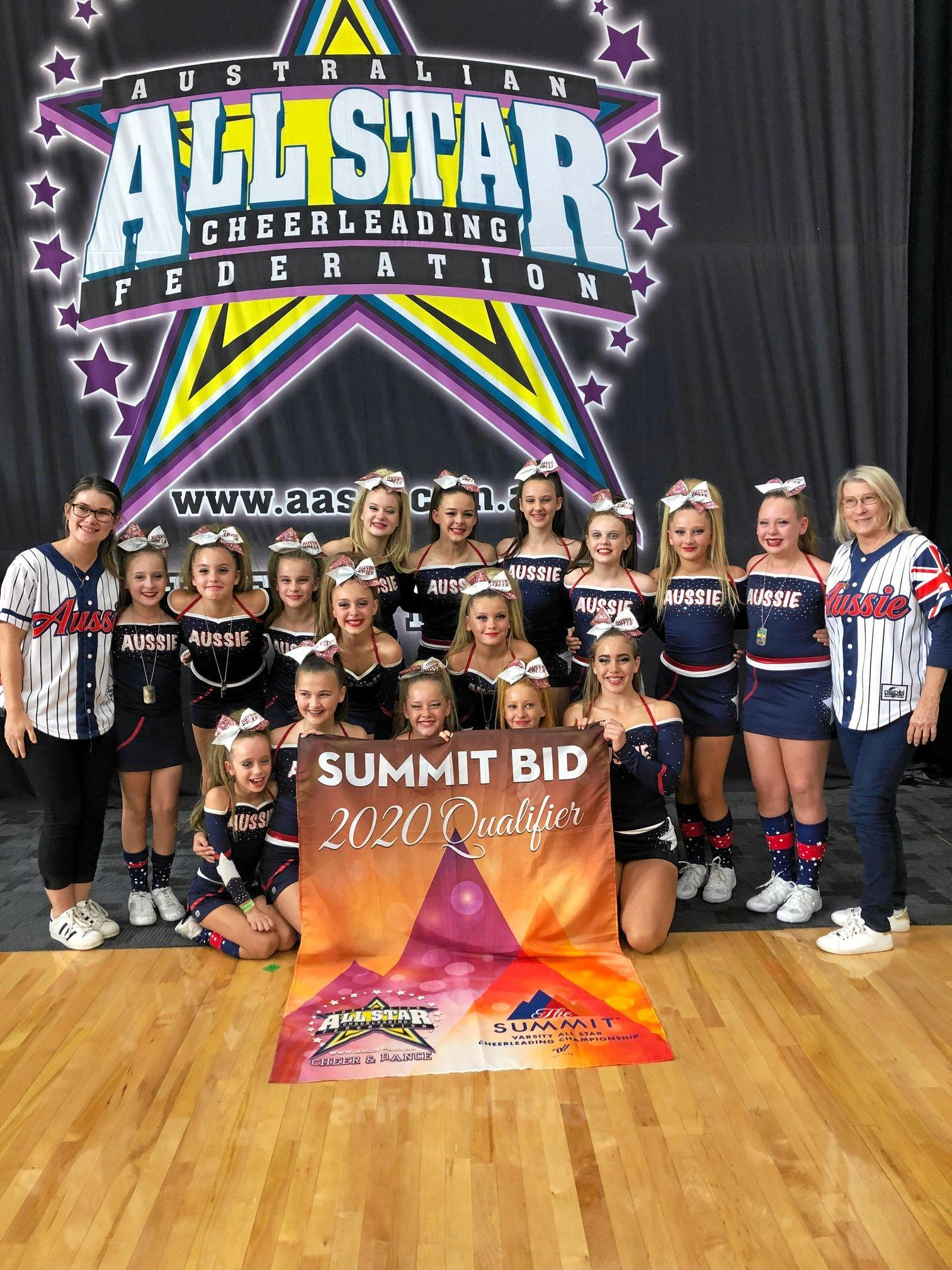 Aussie Cheer will take 16 athletes and two coaches to the world competition