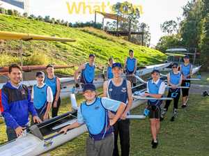 Students on board with row club trial