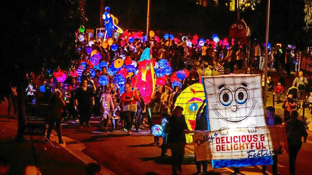 SPECTACULAR: The Delicious and Delightful lantern parade will be a sight to behold tomorrow night.