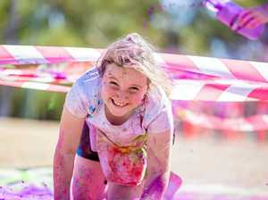 Fun run adds splash of colour to festival
