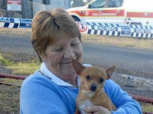'Good boy' alerts neighbours to fatal Lakes Creek blaze