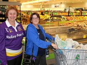 Murgon woman wins trolley full of groceries