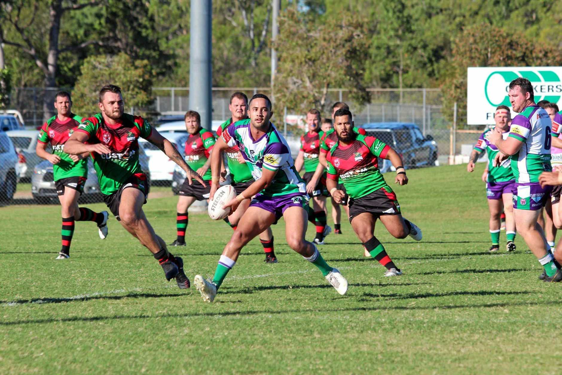 FINALLY: Whitsunday Brahmans key cog Augustus Rangihuna will face former club Norths Devils when he makes his Intrust Super Cup debut with the Mackay Cutters tomorrow.