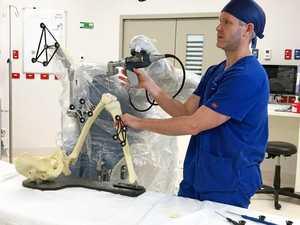 $2m robot lends a hand at St Vincent's