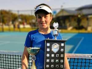 Hayman aces way to crown in Grafton tennis tournament