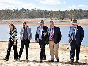 Premier's pledge to drought-stricken region