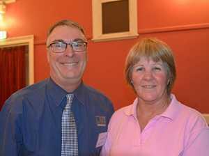 Steve Moneghetti visits Warwick