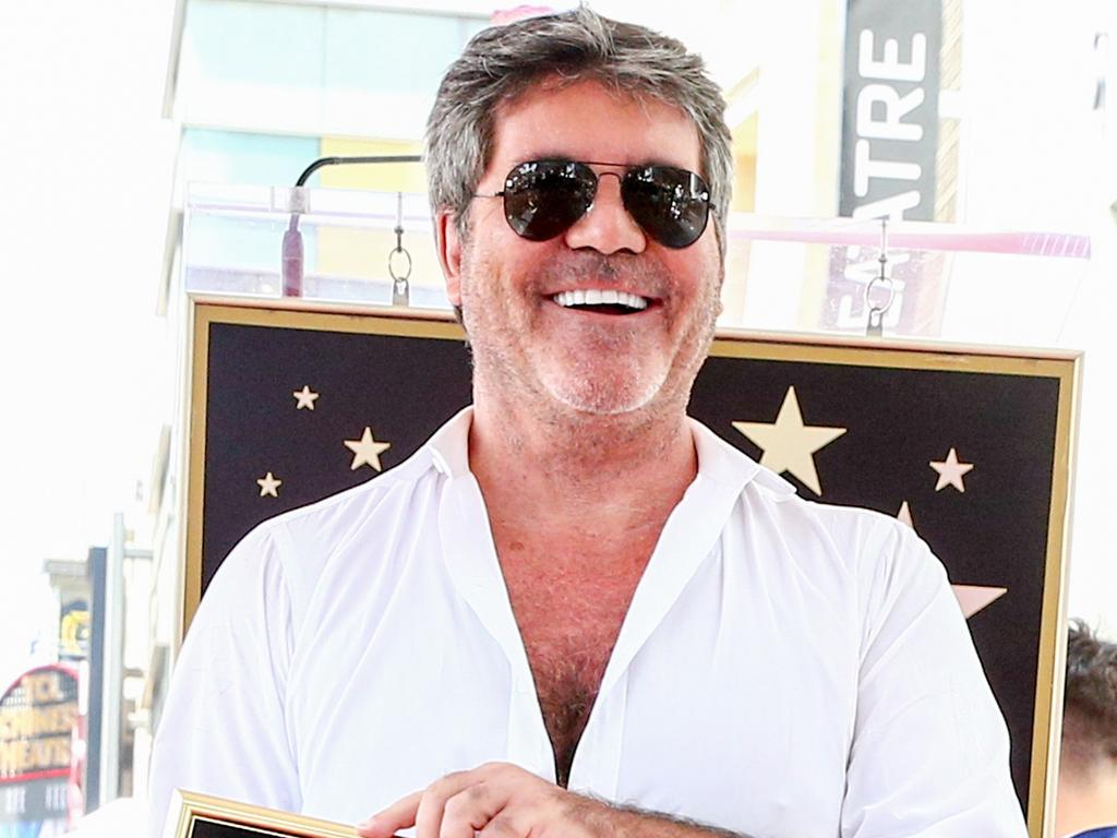Cowell looked drastically different in August 2018. Picture: Rich Fury/Getty Images