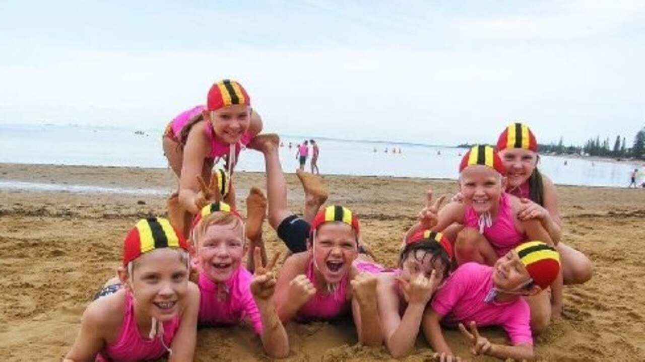 Sunshine Beach SLSC Nippers Under 13s in 2018.