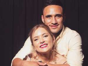 Valentine Holmes' wife decides to follow him to US