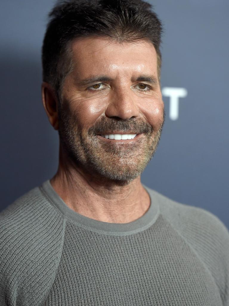 Simon Cowell's fresh look.