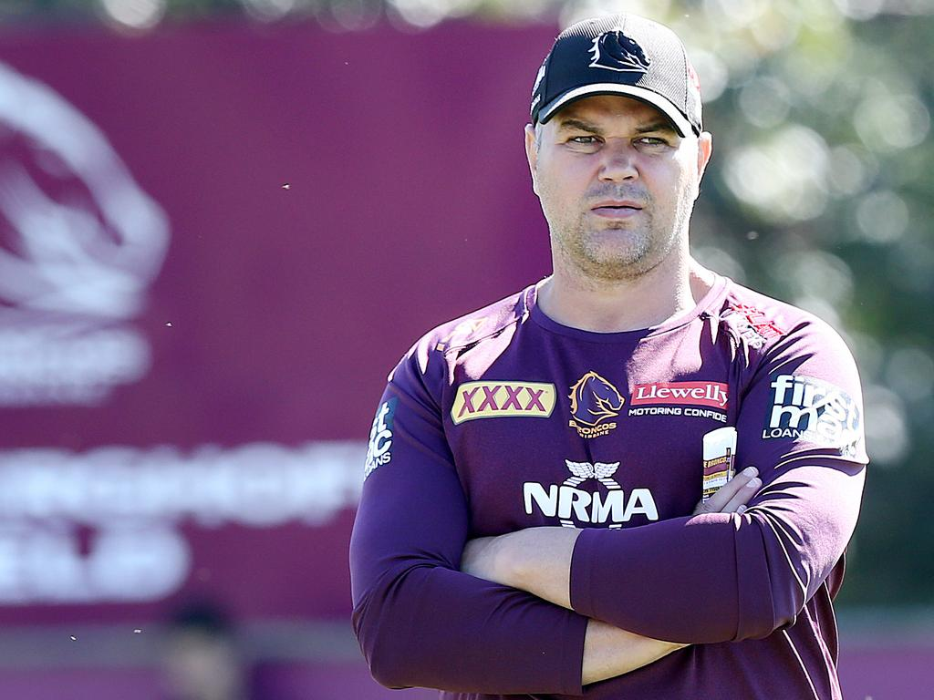 Michael Ennis doesn't think Anthony Seibold will be happy with that one.