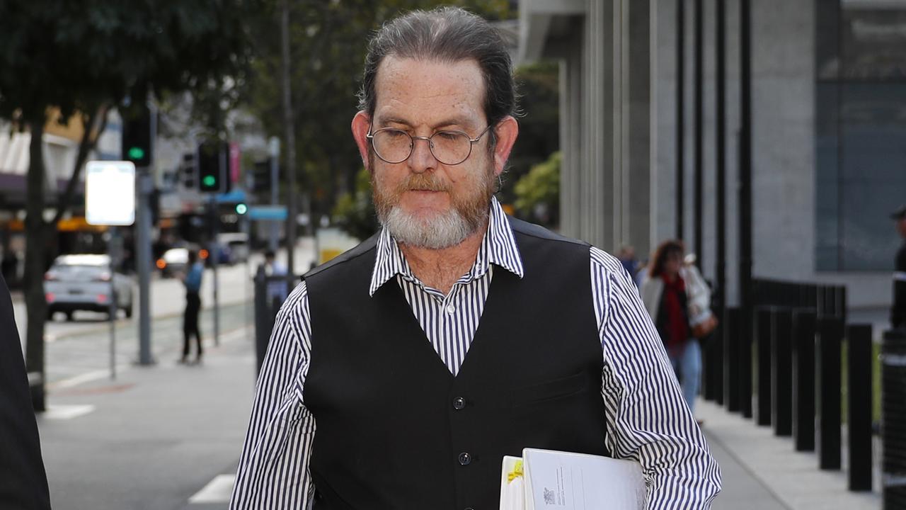 Prosecutor Mark Green leaves the Supreme court in Brisbane, Thursday August 15, 2019. (AAP Image/Regi Varghese)