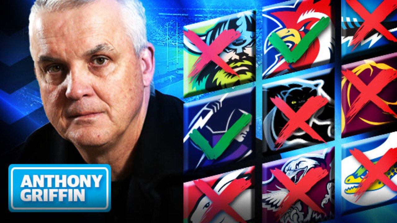The race for NRL finals places is heating up, via Anthony Griffin