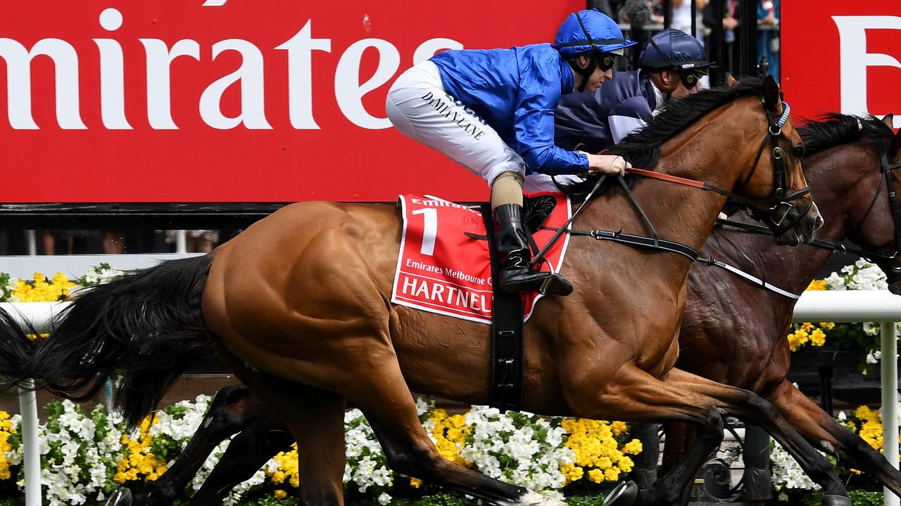 Veteran Godolphin star Hartnell has ran into some great racehorses, but no mightier than champion Winx.