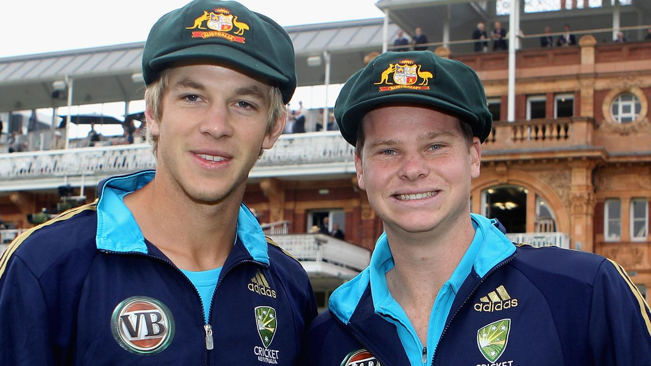 Paine debuted for Australia at Lord's, in 2010, the same match Steve Smith got his Baggy Green.