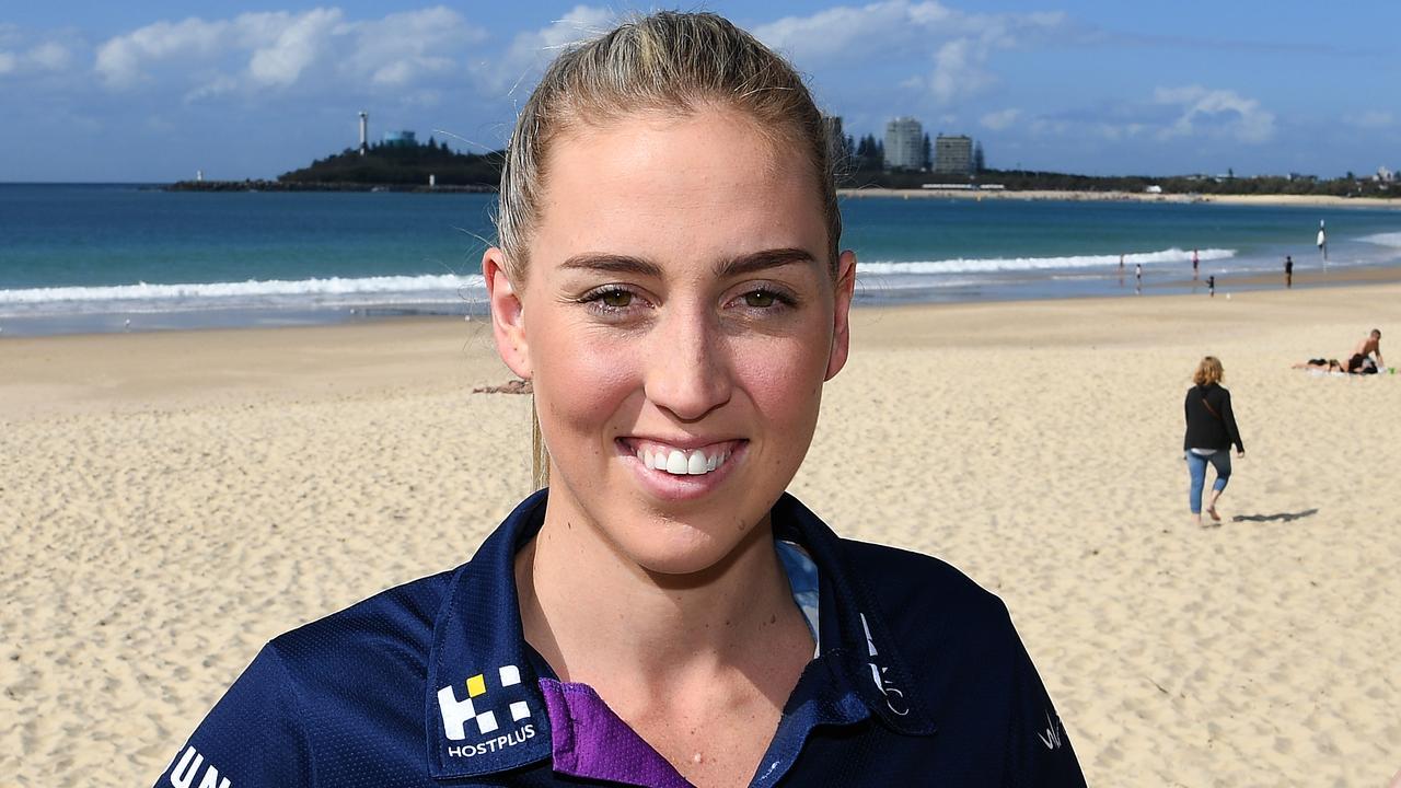 Shooting star Cara Koenen has re-signed with the Sunshine Coast Lightning.