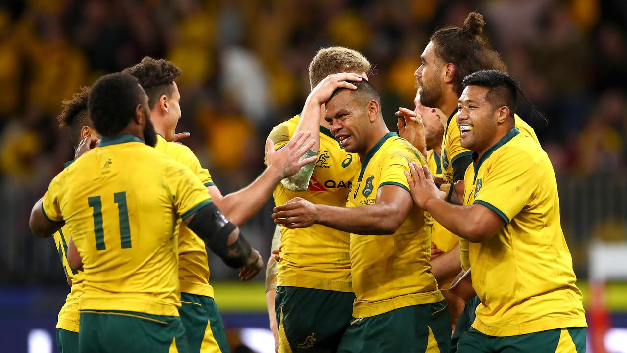 The Wallabies will need to defeat history if they're to hoist the trophy.