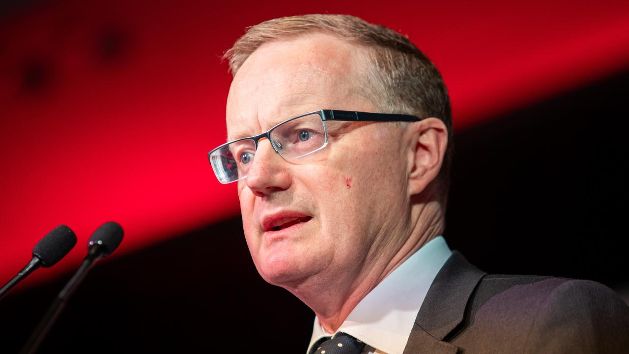 Reserve Bank Governor Philip Lowe is almost out of ammo. Picture: AAP Image/James Elsby