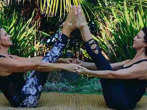 Pair's Pilates passion brought to life in retreat