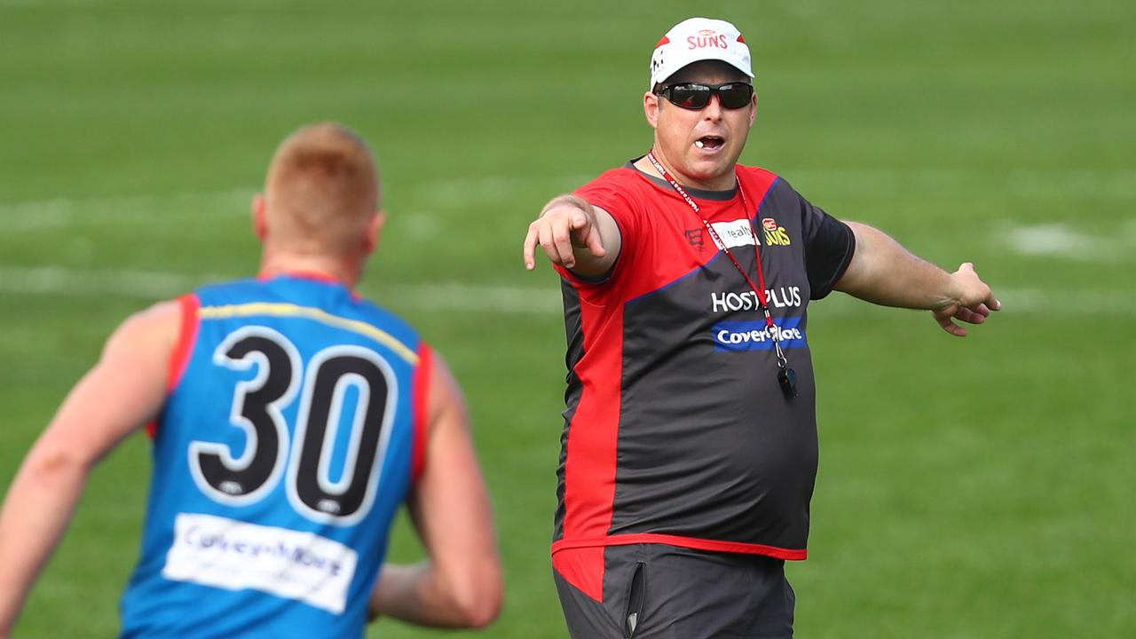The Suns are confident Stuart Dew can deliver the club success. Picture: Getty Images