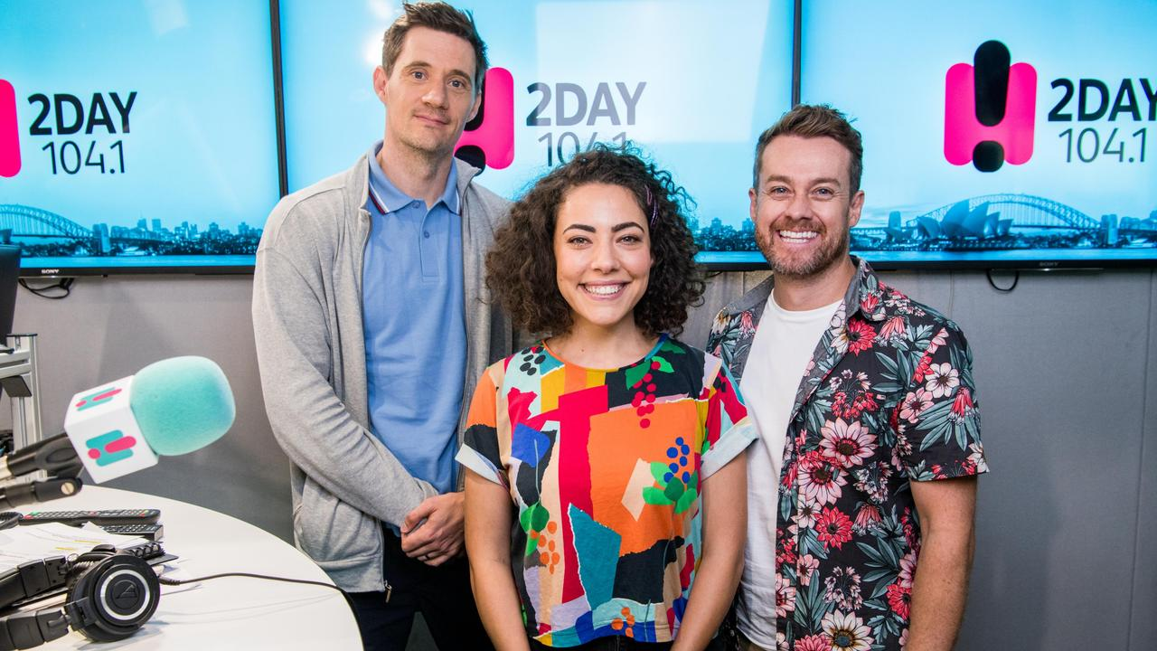 Ed Kavalee, Ash London and Grant Denyer for 2Day FM.
