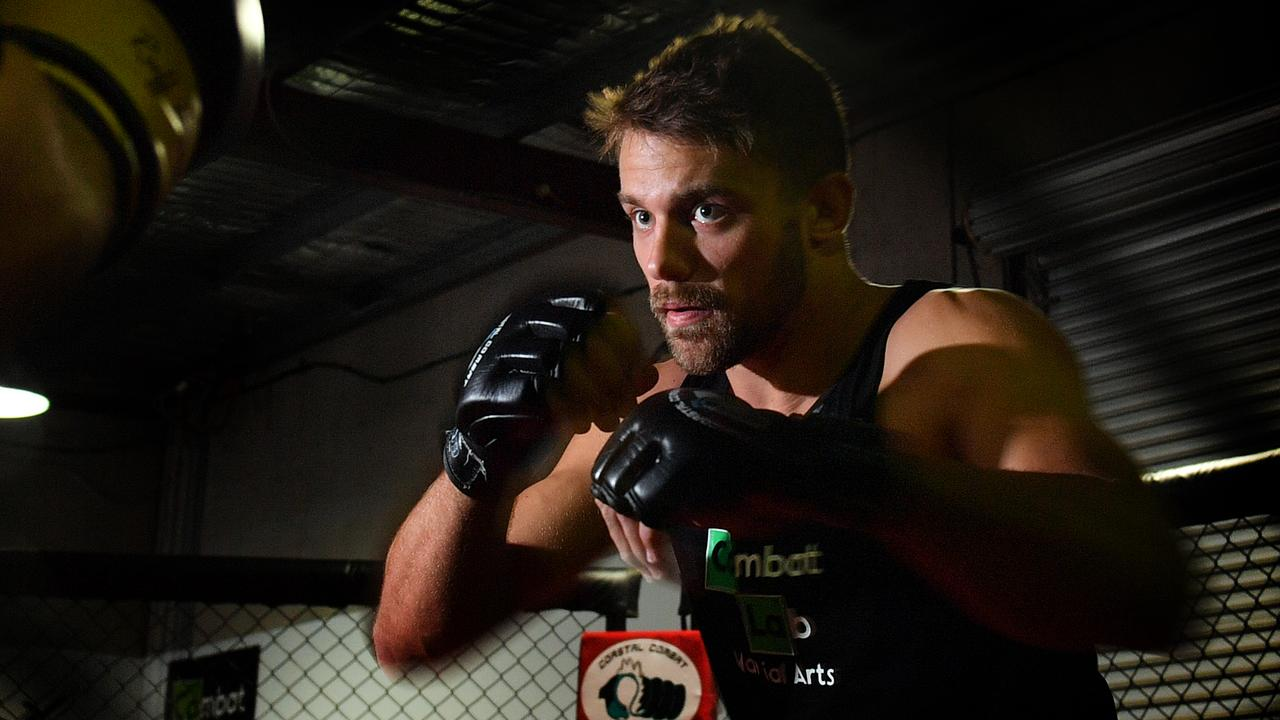 TRAINING: MMA is gaining popularity across the Coast. Ty Duncan will return to the ring next month after an injury. Photo: John McCutcheon