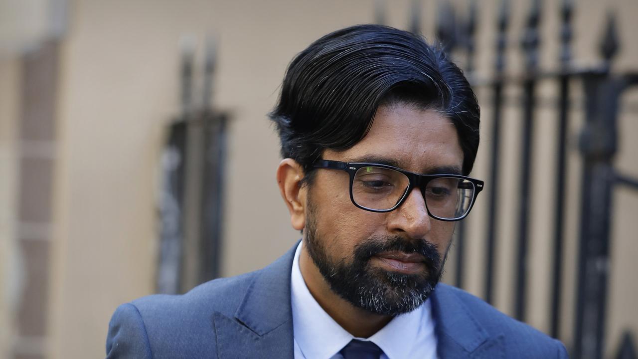 Kulwinder Singh arrives at his Supreme Court murder trial in Sydney. Credit: AAP