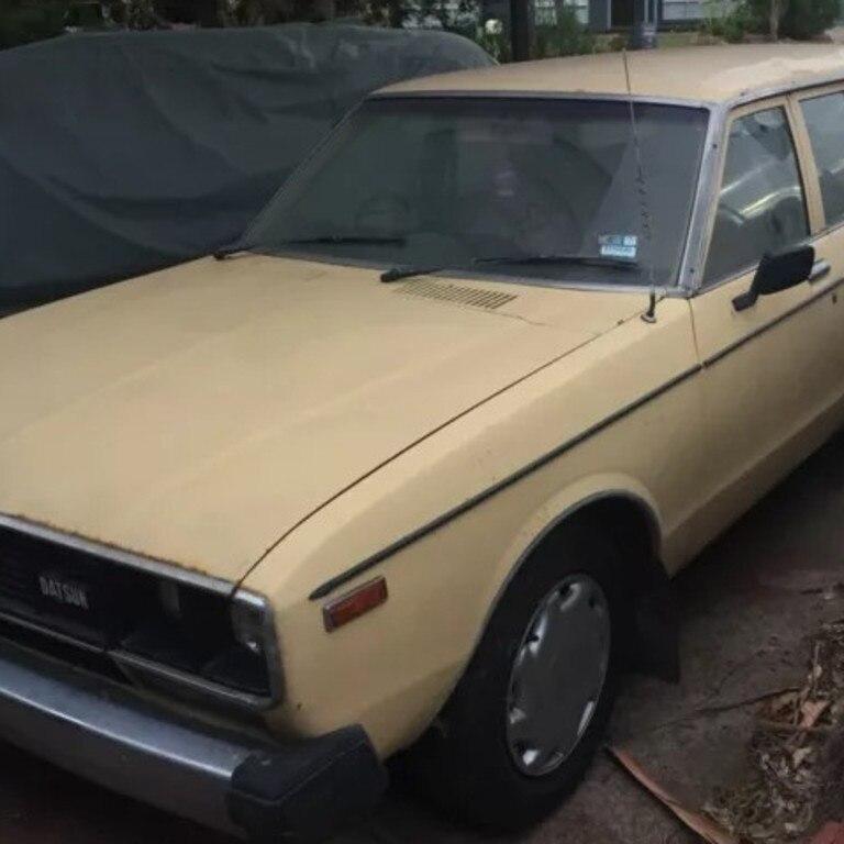 A beige Datsun was seen near the victim's home.