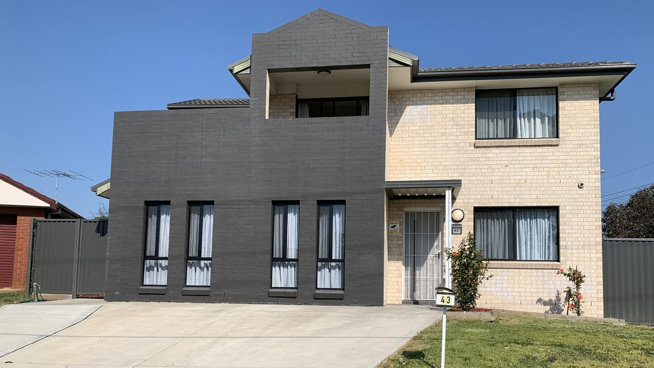 The emergency housing at Blacktown where Ney was staying while police looked for him. Picture: Campbell Gellie
