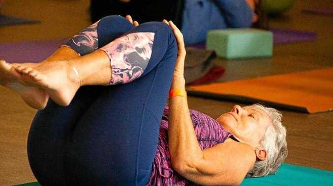 Enjoy bringing out the yoga mats at Ekam retreat