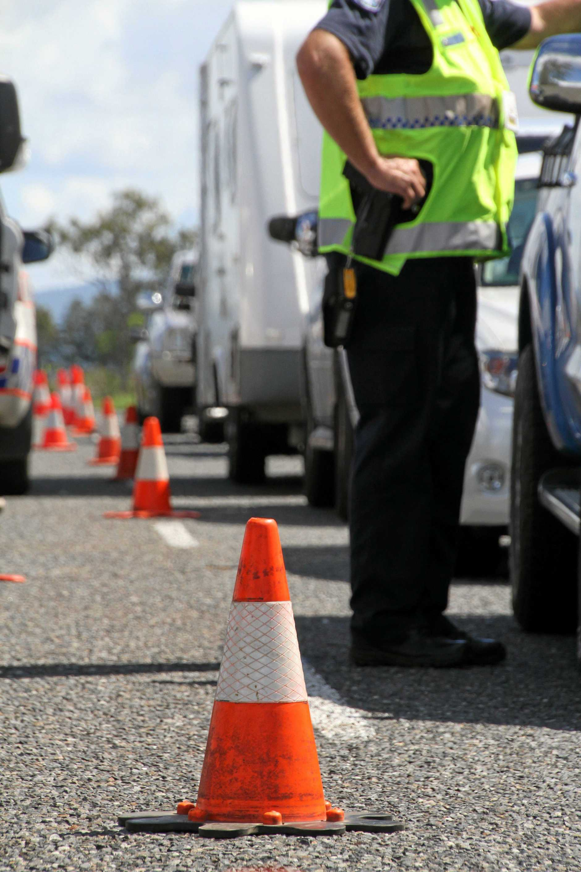 A GLADSTONE man told a magistrate he had no one to blame but himself when he got behind the wheel on the Bruce Hwy after drinking several beers.