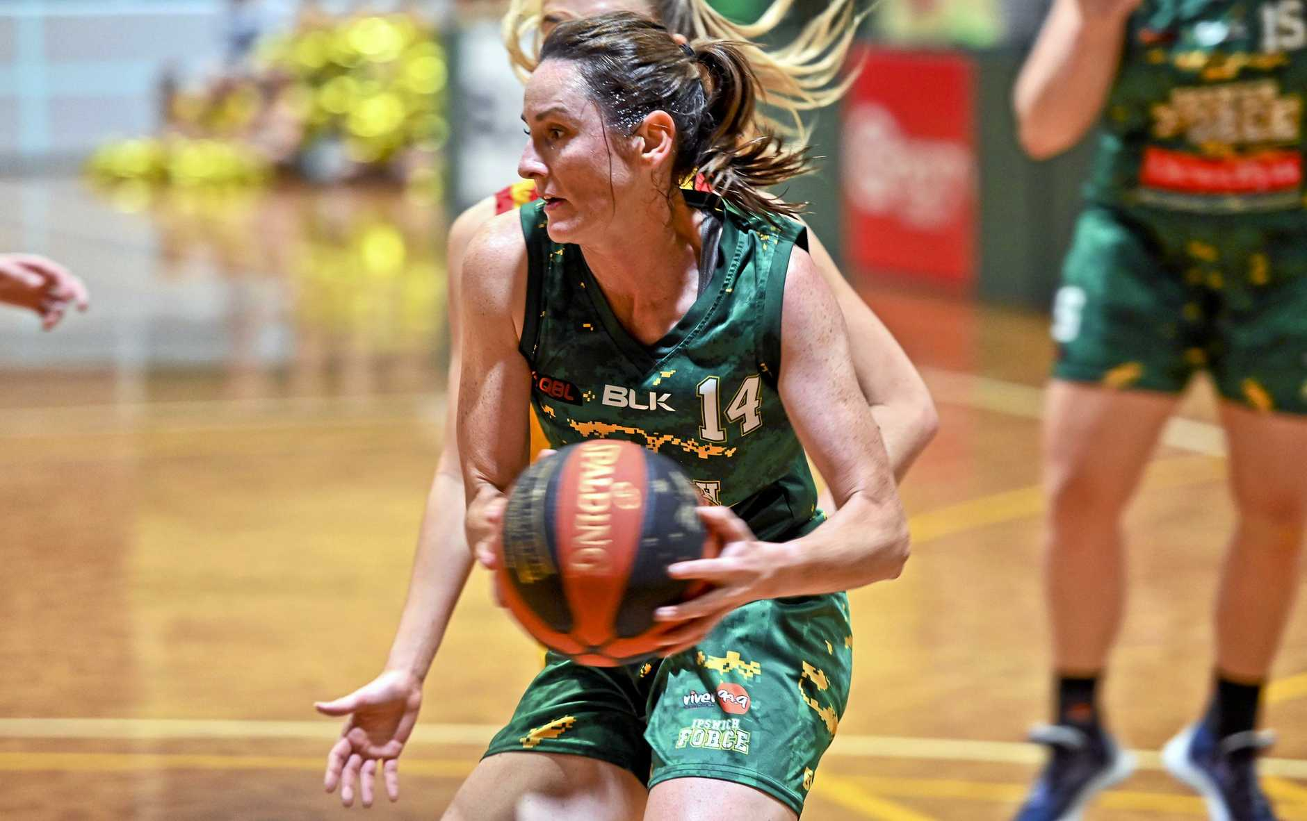 Ipswich Force point guard Amy Lewis.