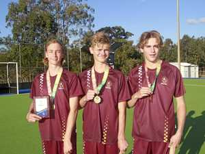 Qld hockey gold medallists gain national selection honours