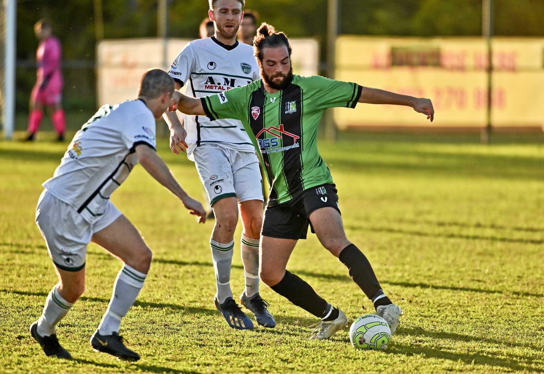 STRIKE WEAPON: Ipswich Knights striker Lachlan Munn can play a vital role in his team's bid to reach the Queensland Premier League grand final this weekend.